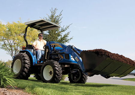 Loaders for Boomer™ Series Tractors